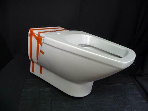 klosettbecken wc becken toilettenbecken  altfarben